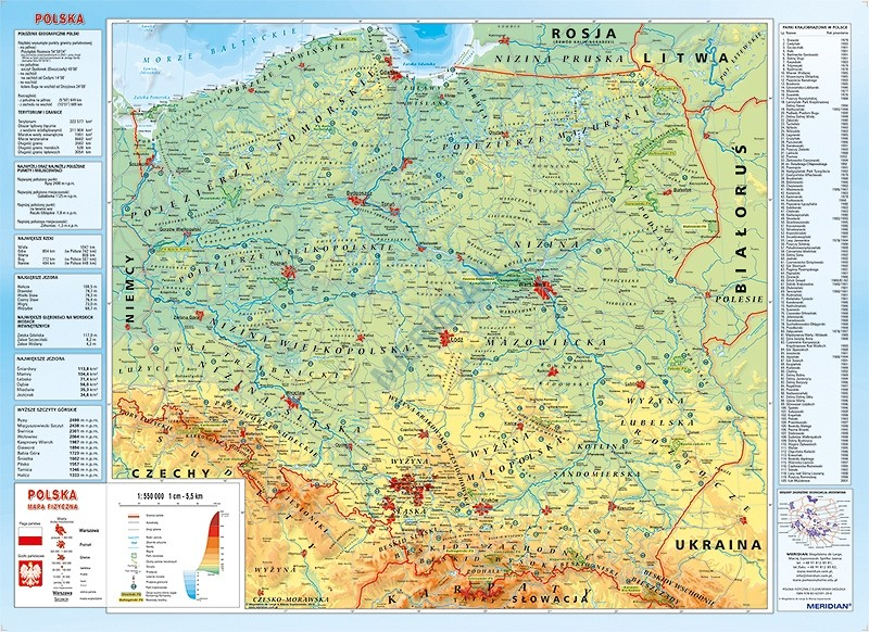 Biuro Media Nasza Oferta Pomoce Dydaktyczne Mapy Polska