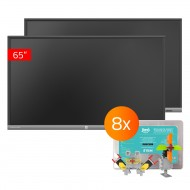 2x  Monitor TouchScreen 5 Lite 65, 8x Jimu Box